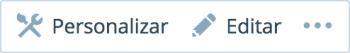 barra de ações personalizar editar