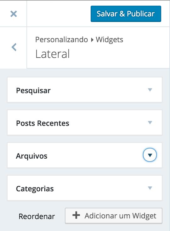 Widgets - Exemplo