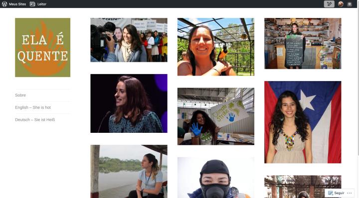 Ela é Quente – Blog que conta história de mulheres que estão ajudando a combater os efeitos das Mudanças Climáticas ao redor do mundo