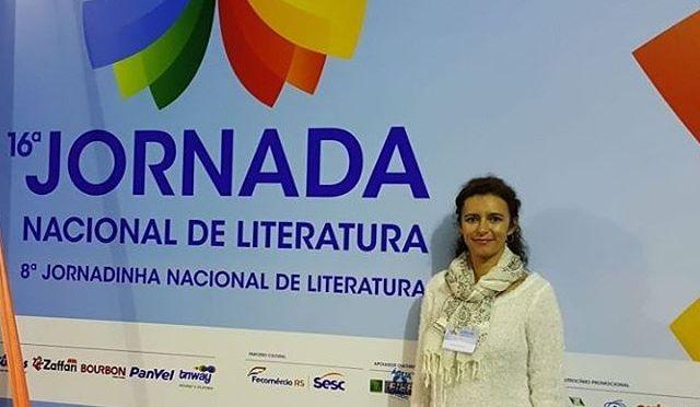 Renata Tufano Jornada Nacional de Literatura