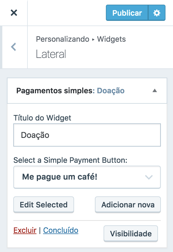 Pagamentos Simples