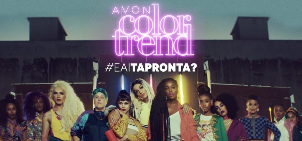 Campanha da Avon #EAíTaPronta? incluindo diversidade de gênero e cores